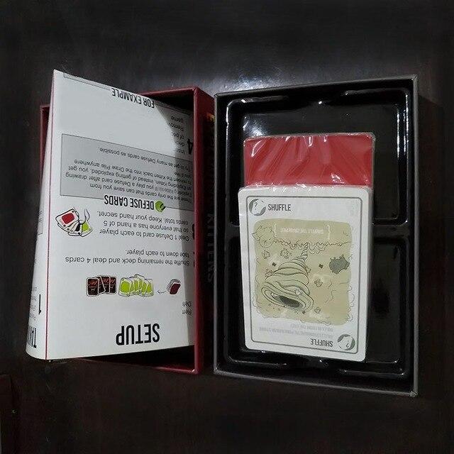 Jogos de tabuleiro Jogo De Cartas para o gatinho Edição Original NSFW explodir Edição Vermelho Gato Preto Gato Festa de Família Jogos de Estratégia