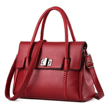The new influx of women bags handbag fashion handbag European and American minimalist shoulder bag diagonal