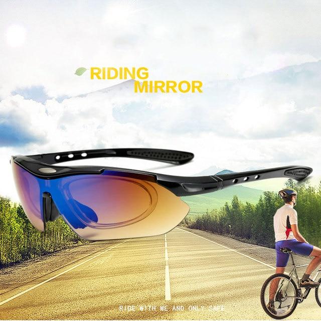 Novo ciclismo óculos de bicicleta ciclismo óculos de sol dos homens/mulher esportes ao ar livre equitação gafas ciclismo bicicleta eyewear 6
