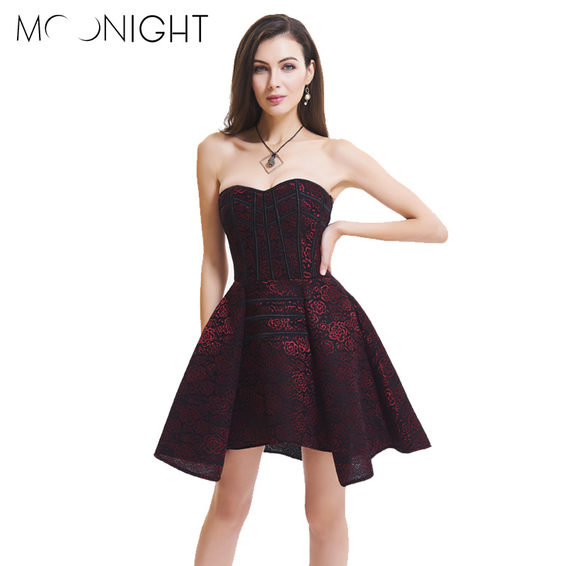 MOONIGHT 3 Colors Plus Size Sexy Steampunk Corsets and Bustiers Women Corset Sexy Gothic Bustier Overbust Corset Dress S-XXL