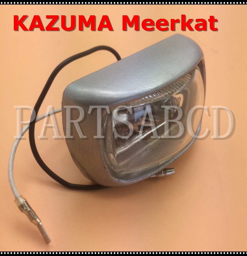 hight resolution of kazuma meerkat head light 50cc 90cc atv quad headlight