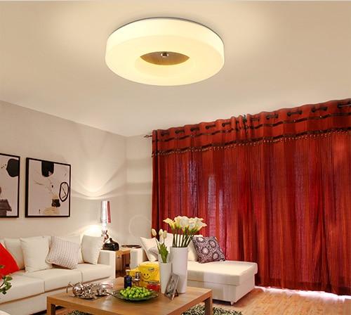 100% Kwaliteit Led Nordic Houten Acryl Led Lamp. Led Licht. Plafondverlichting. Led Plafondlamp. Plafondlamp Voor Foyer Slaapkamer Eetkamer