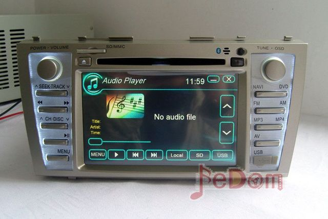 Car Accessories Multimedia Audio Radio Dvd Player With Gps For Toyota Camry 2008 2017
