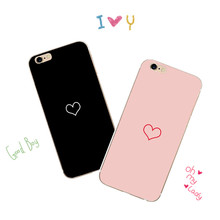 Lovely Couple Princess and Prince Heart in Magazine stack pattern Soft Phone Case For iPhone 5 se6 6s 7 7p 8 X mobile phone bags