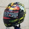 Recién llegado de la motocicleta MALUSH doble lente open face compite con el casco casco casco