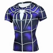 Mens Fashion Compression Super Hero T-Shirts