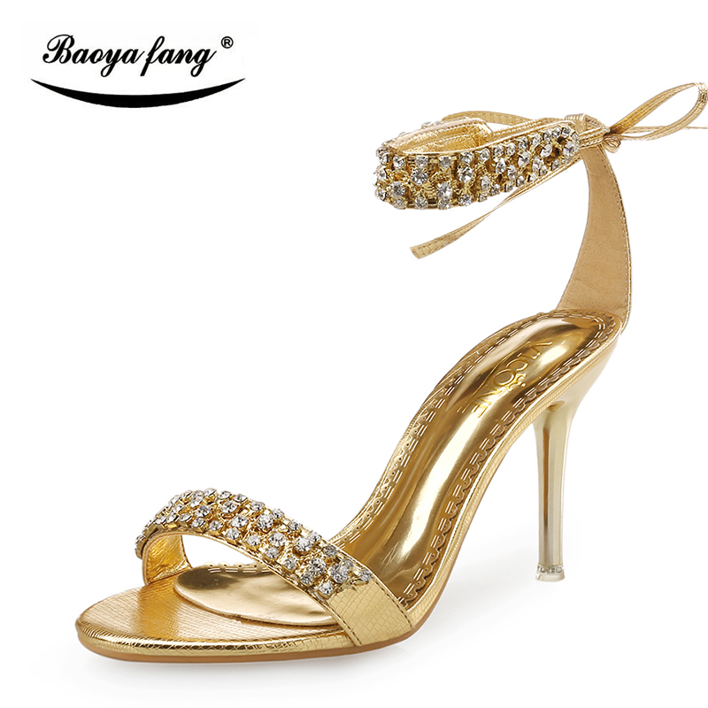 Fashion Womens sandalsl 9cm Thin High heels Party shoes Bridal wedding shoes crystal Tassels Party Sandals