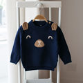 New 2017 spring and autumn children 's cartoon sweaters baby boys and girls baby knit sweaters  long - sleeved sweater