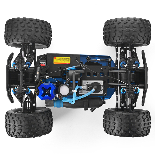 HSP RC Truck 1:10 Scale Nitro Gas Power Hobby Car Two Speed Off Road Monster Truck 94108 4wd High Speed Hobby Remote Control Car 5