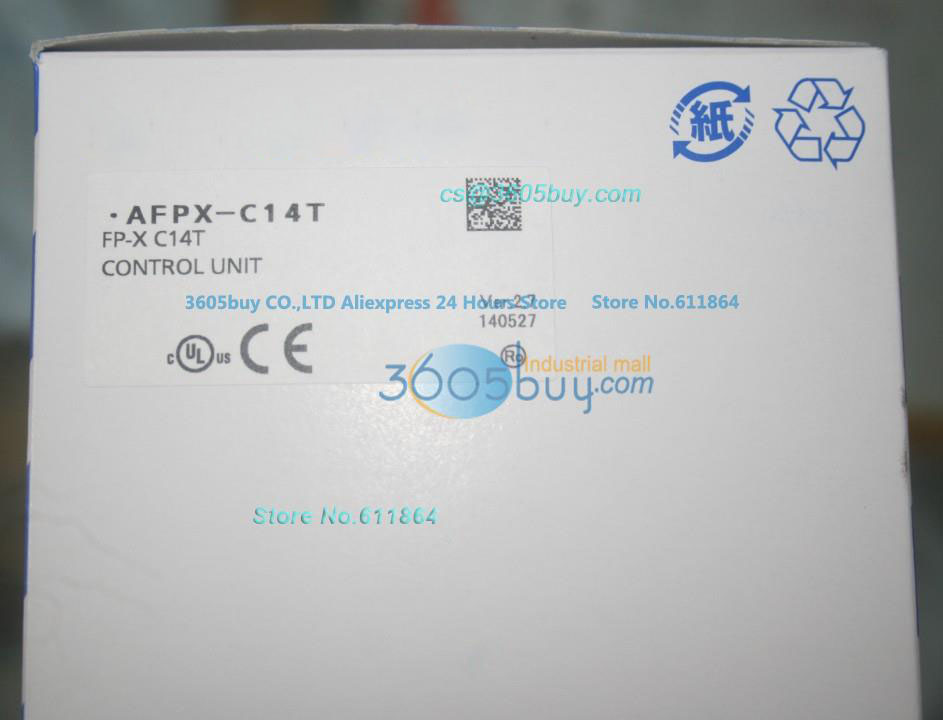 New Original PLC FP-X Series AFPX-C14T FP-X C14T
