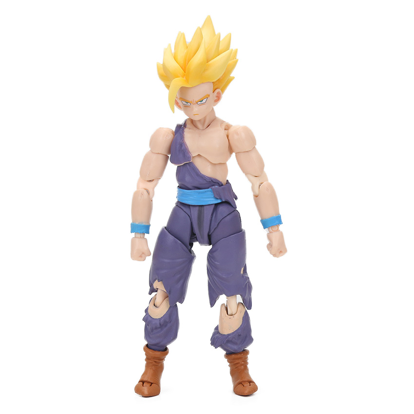 Dragon Ball Z Action Figure Gohan Goku Vegetto Vegeta Trunks Piccolo Freeza 18 with rotating joints 21