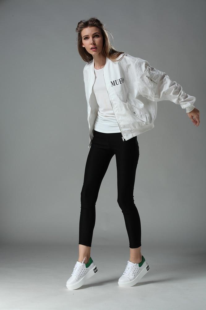 Aliexpress.com : Buy women 2016 new fashion casual white bomber ...