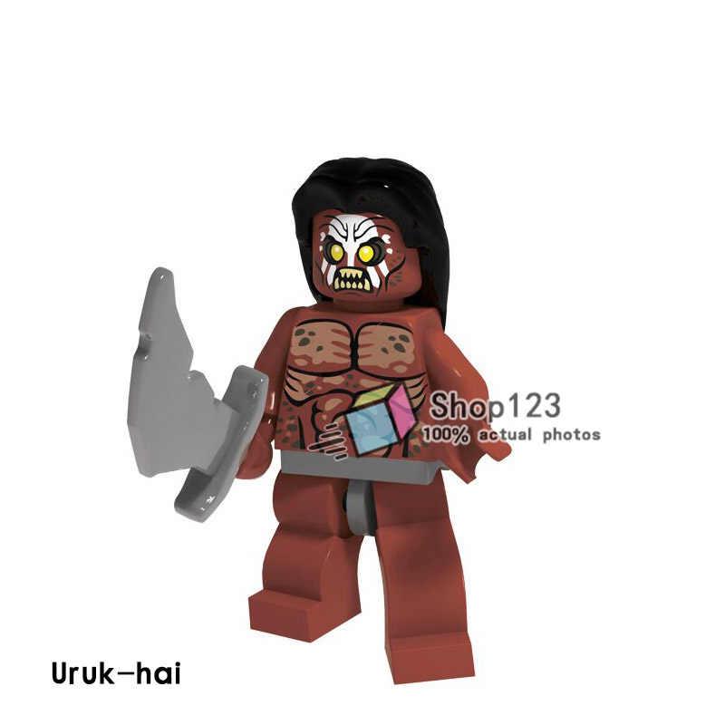 PG540 Enkele Verkoop De Lord of The Rings Uruk-hai Bricks Educatief Bouwstenen Voor Kinderen DIY Speelgoed Gift