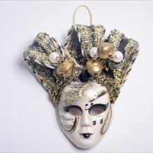 10pcs/lot Mini Mask Magnets Sticker Small Triangle Venetian Mardi Gras Decorations for Fridge Refrigerator