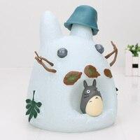 18cm My Neighbor Totoro Figure Studio Ghibli totoro Piggy Bank Money Box PVC action Figure Toys