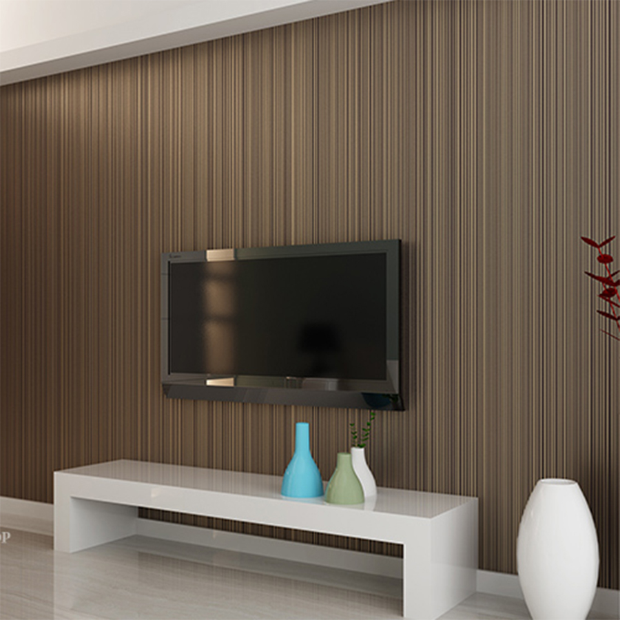 Luxury Modern textured of wall paper 3D Touch Feeling Striped Non-woven wallpaper for bedroom living room wall papers home decor home improvement decorative painting wallpaper for walls living room 3d non woven silk wallpapers 3d wall paper retro flowers