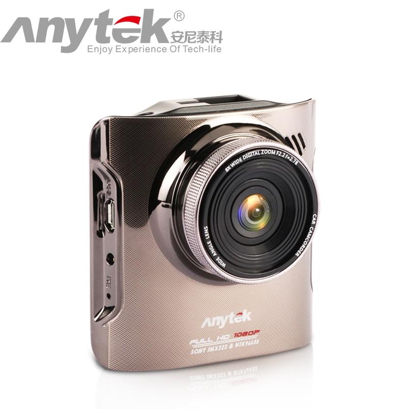 Original Super Night Vision Anytek A3 Car DVR Car Camera Novatek With Sony IMX322 fashion design Dash Cam Black Box