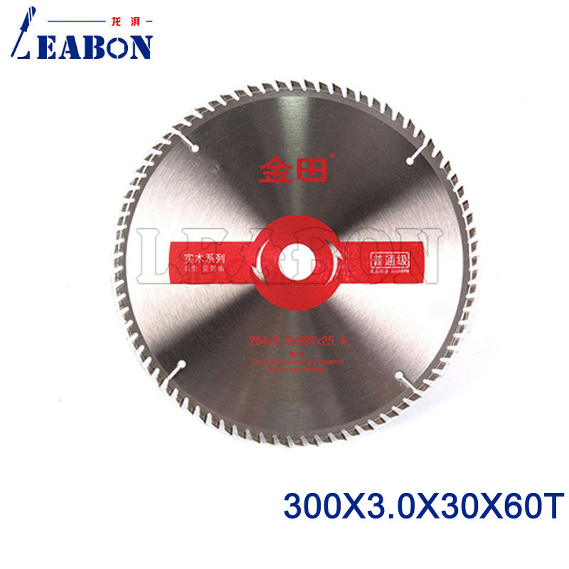 LEABON Woodworking TCT Circular Saw Blade For Wood 300 X 3.0 X 30mmX60T