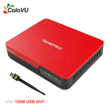 Receptor de TV por satélite TocomFree S929 Plus + WiFi USB FTA DVB-S/S2 con IKS SKS IPTV para Brasil/Chile/América Del Sur
