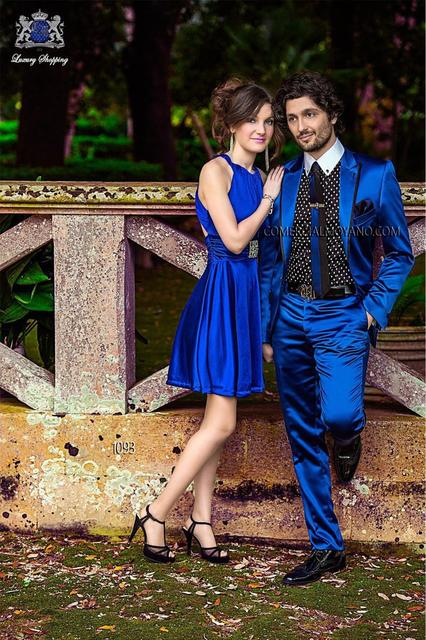 2015 Chegada Nova Ternos de Casamento Para Homens Terno Masculino Dos Homens ternos Com Calças de Smoking Mens Ternos Do Noivo Do Casamento Azul Royal smoking