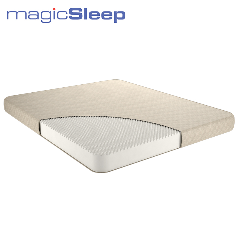 MAGIC SLEEP UNO M.328 (6 cm) Mattress High-quality material Ergofoam Mattresses Improves blood circulation and metabolism sales promotion foshan furniture factory low price with good quality queen size king size sleep well pocket spring mattress 8346