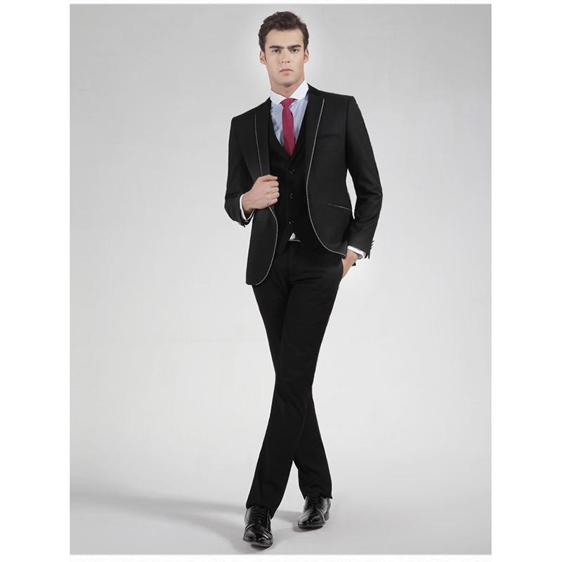 Vest Abiti Vestito Groomsmen Tasto Uomo Da multi Alta Del Best Beige Notch  Uno giacca Smoking ... c78e87d78e3
