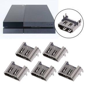 Image 2 - 5Pcs Ersatz Display HDMI Port Buchse Jack Stecker Für PlayStation PS4 Pro Slim Konsole Port