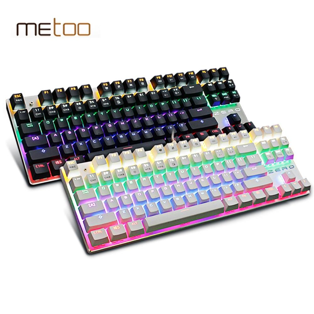 Metoo Backlit Gaming Original Механикалық - Компьютерлік перифериялық құрылғылар - фото 4