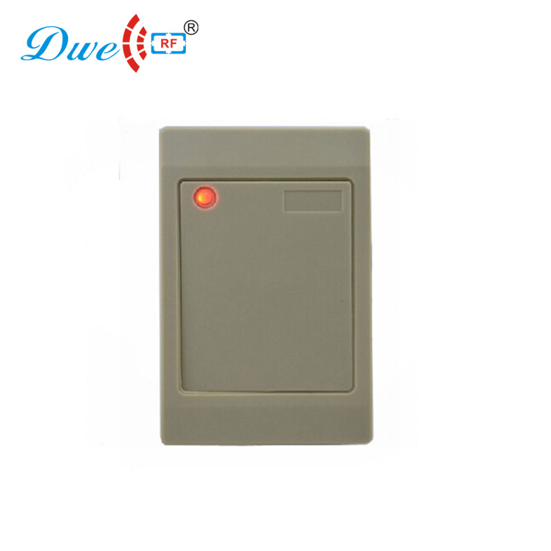 DWE CC RF access control card reader rs232 access controller white chip proximity card reader цена и фото