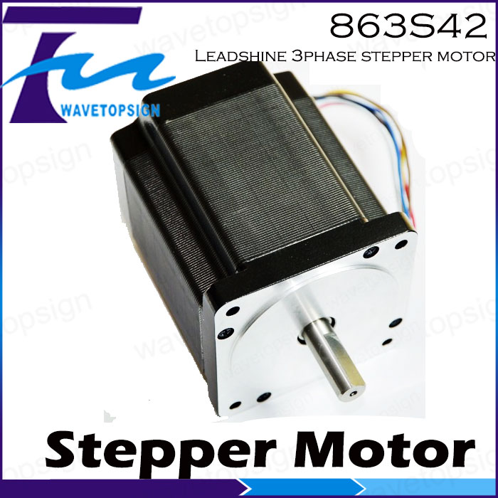 Leadshine  Stepper  Motor 863S42  3Phase Stepper Motor/For Laser Engraver Machine/Cnc Machine leadshine 3 phase stepper motor 863s68h 3phase step motor laser engraver machine cnc router