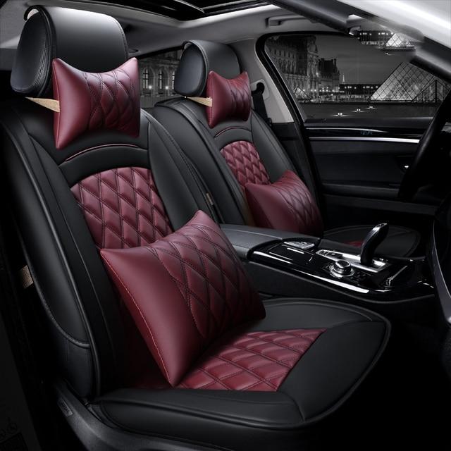 3D Sports Car Seat Cover Cushion High grade leather Car Accessories ...