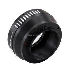 Image 5 - Kecay adaptateur dobjectif M42 FX haute précision pour objectif à monture à vis M42 pour Fujifilm X Pro1 FX XPro1 noir + argent