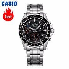 20510780fb39 Casio watch Edifice Men s Quartz Sports Watch Highlights Taste Business  Pointer Waterproof Watch EFV-540