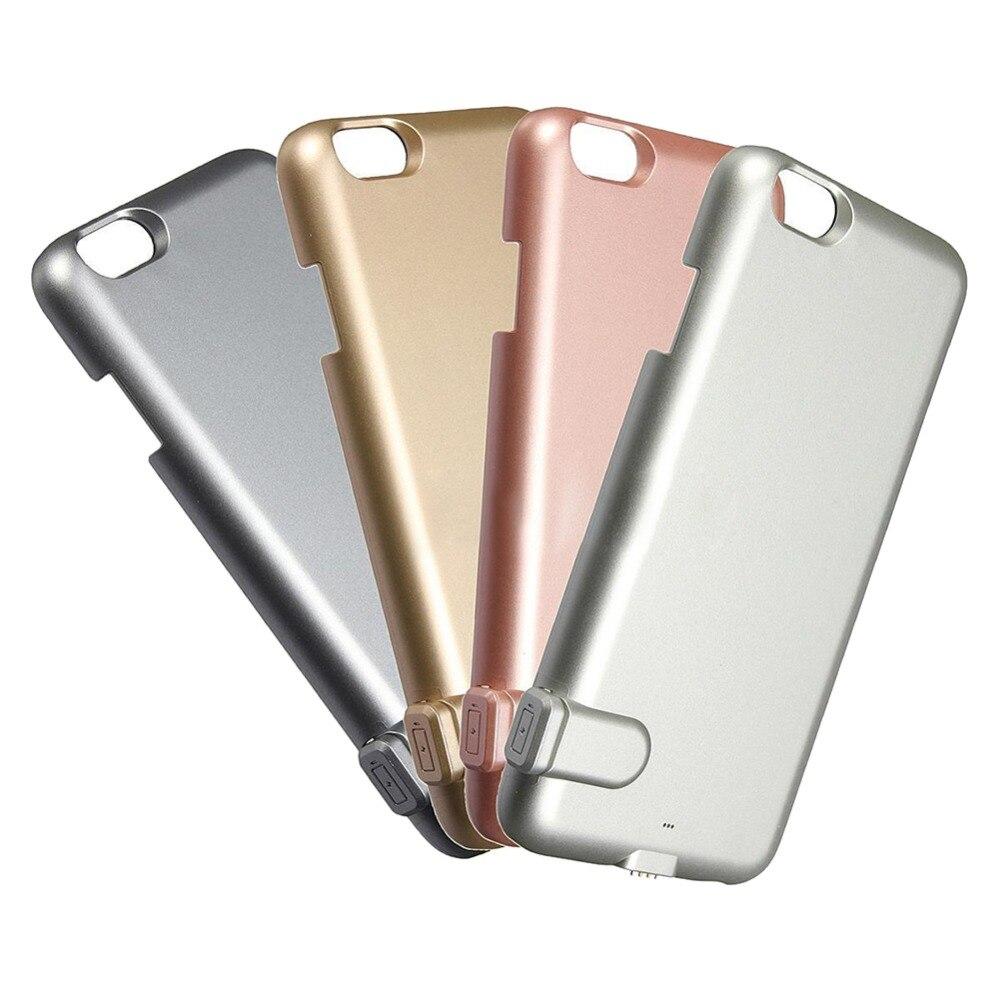 imágenes para 1500 mah externa del caso del cargador banco de potencia ultra delgado caso para apple iphone 6 6s 4.7 tapa de la batería de copia de seguridad