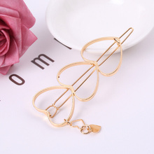 Details about  /1PC Geometric Hollow Hair Clip Rectangle Hairpin  Bling Hair Clip Slide Barrette