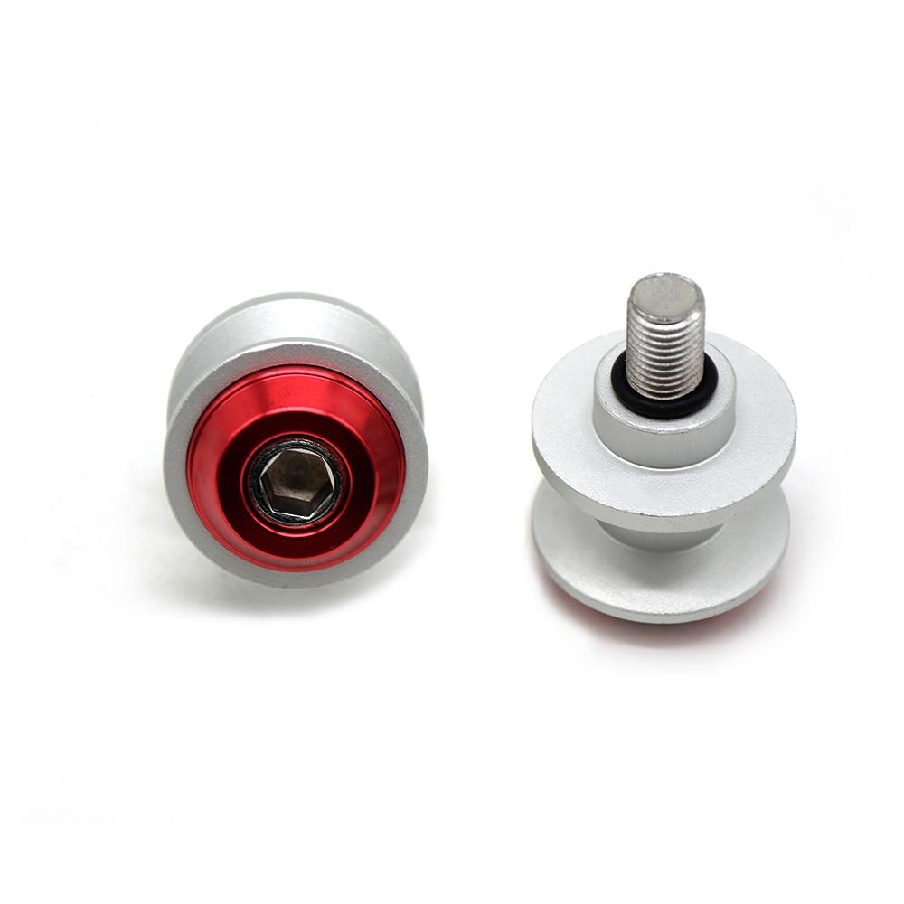 8MM CNC Swingarm Spools Sliders for Suzuki Hayabusa 1300 Katana 650 750 SV650/S Vstrom 650 1000 TL1000R Motorcycle Stand Screw