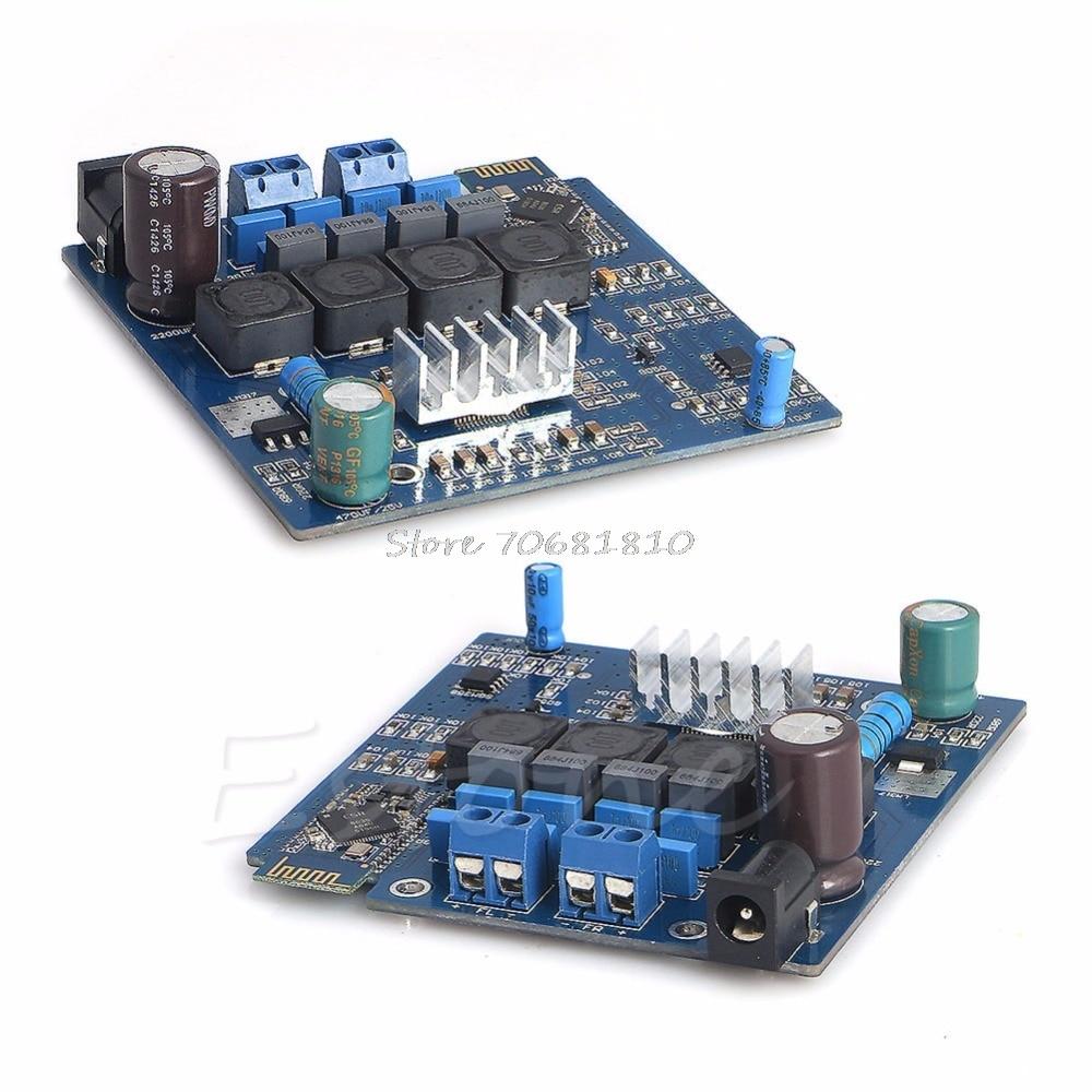 TPA3116 <font><b>Bluetooth</b></font> Усилители домашние доска класса d 50 Вт * 2 AMP совета CSR4.0 новый модуль Z09 Прямая поставка