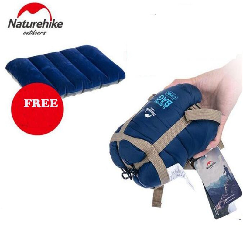 Naturehike Splicing Envelope Sleeping Bag Ultralight Adult Portable Outdoor Camping Hiking Sleeping Bags Spring Autumn 1.9*0.75m naturehike envelope shaped sleeping bag cotton portable outdoor travel camping hiking sleeping bag for adult with carry bag