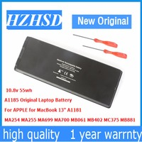 10 8v 55wh New Original A1185 Laptop Battery For Apple MacBook 13 MA699 MA561FE A MA561G