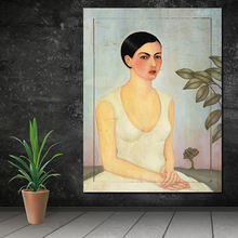 Early Frida Paintings Canvas Painting Posters Prints Marble Wall Art Painting Decorative Picture Modern Home Decoration Artwork