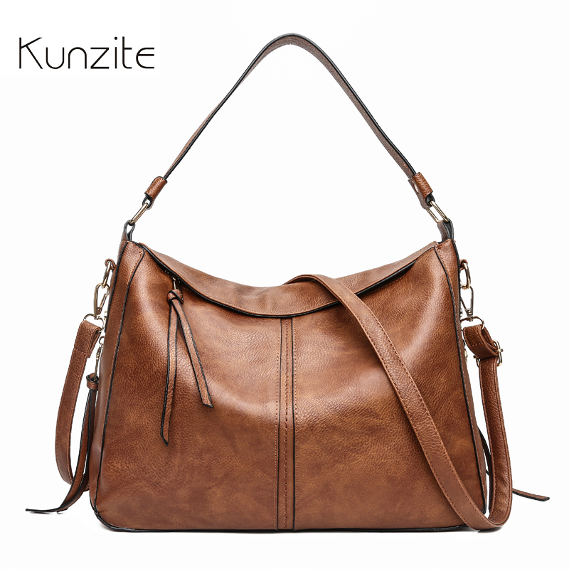 shoulder bag women designer handbag high quality female Hobo bag tote soft artificial leather Large vintage