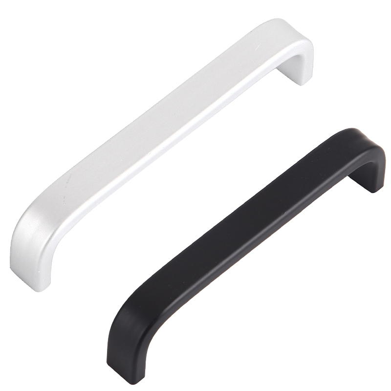 Modern Drawer Pulls Handle Door Pulls Black/ Matte white Cupboard Knobs Kitchen Cabinet Handle Furniture Hardware ботинки ralf ringer ботинки на каблуке