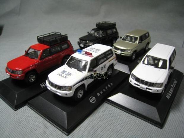 J Collection 143 Nissan Patrol Alloy Model Car Diecast Metal Toys Birthday Gift