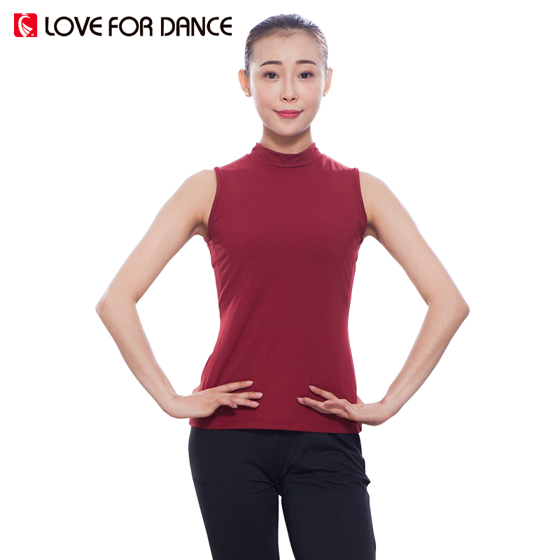 LOVE FOR DANCE Sport Shirt Women Yoga T Shirt Sleeveless