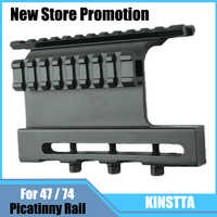 KINSTTA Tactical AK 47 / 74 Picatinny Weaver Rails AK Series QD Double Side Scope Mount Quick Release Airsoft Accessories
