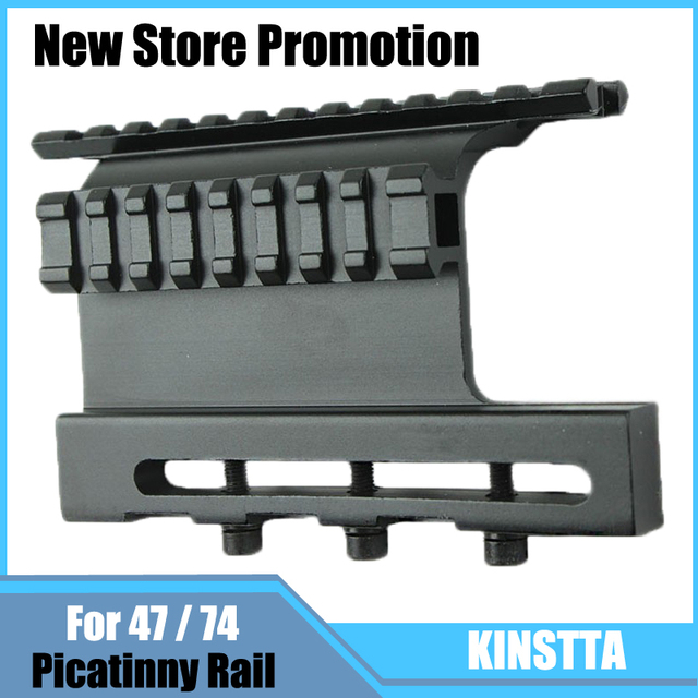 KINSTTA Tactical AK 47 / 74 Picatinny Weaver Rails AK Series QD Double Side Scope Mount Quick Release Airsoft Accessories