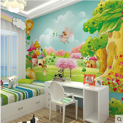 Modern 3D Mural Self Adhesive Wallpaper Photo Murals For Living Room Children Child Kids Bedroom Wall Background Home Decor In Wallpapers From