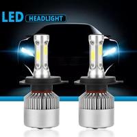 S2 LED 12V Headlight Bulb H1 H3 H4 LED H7 H11 H13 880 9004 9005 HB3