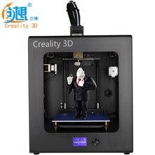 2017 Высокое Качество CREALITY 3D CR-2020 Автоматическое Выравнивание 3D Принтер Полный Собраны 3D Печатная Машина + Очаг + Нити + SD Card + LCD