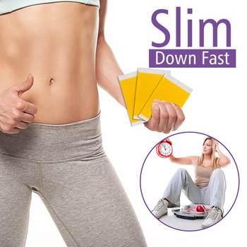 KONGDY 30 Pieces/3 Bags Slimming Patch Fast Burning Fat&Lose Weight Products Natural Herbs Navel Sticker Body Shaping Patches 4